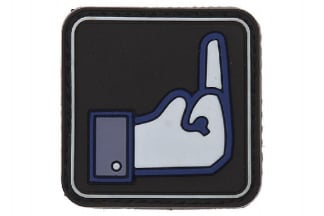 "101 Inc PVC Velcro Patch ""F**k FB"""