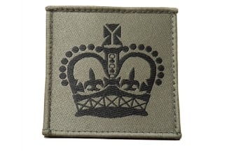 Commando Rank Patch - WO2 (Subdued)