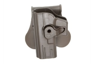 ASG Rigid Polymer Holster for Glock Left Hand (Dark Earth)