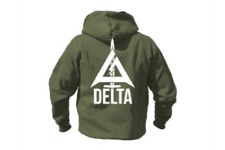 Daft Donkey Special Edition NAF 2018 'Delta' Viper Zipped Hoodie (Olive)
