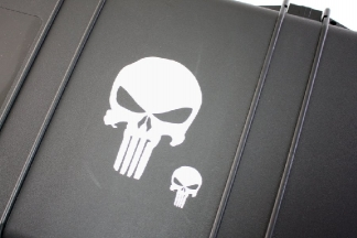 Zero One Vinyl Decal 'Punisher Skull'