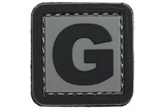 "101 Inc PVC Velcro Patch ""G"""
