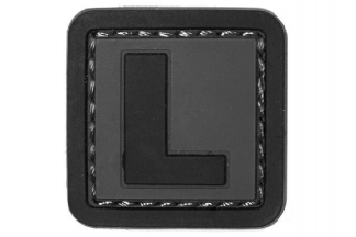 "101 Inc PVC Velcro Patch ""L"""
