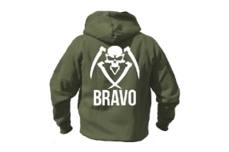 Daft Donkey Special Edition NAF 2018 'Bravo' Viper Zipped Hoodie (Olive)