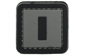 "101 Inc PVC Velcro Patch ""I"""