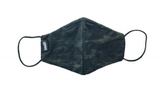 Zero One Camo Face Covering (Black MultiCam)