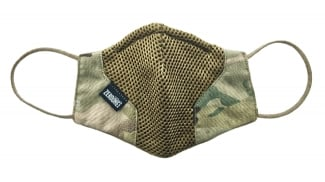 Zero One Camo Mesh Vent Face Covering (MultiCam)