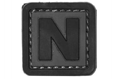 "101 Inc PVC Velcro Patch ""N"""