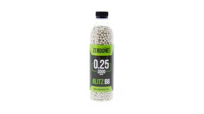 Zero One Blitz BB 0.25g 3000rds Bottle (White)