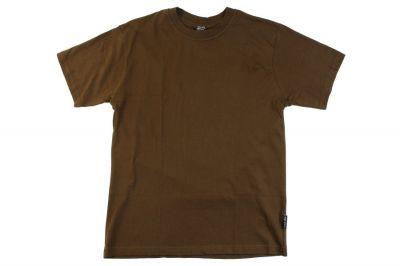 Mil-Com Plain T-Shirt (Olive) - Size Extra Large