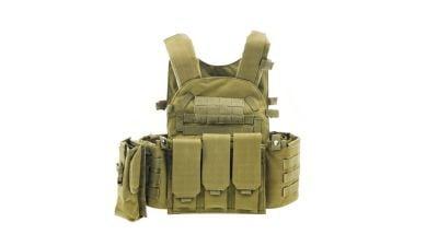 Zero One MOLLE Assault Vest (Tan)