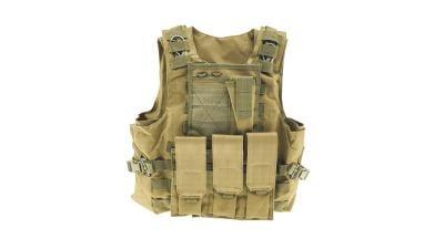Zero One MOLLE Recon Vest (Tan)
