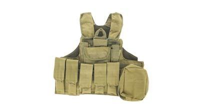 Zero One MOLLE Defender Vest (Tan)