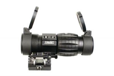 Zero One 3x Flip Magnifier (Black)
