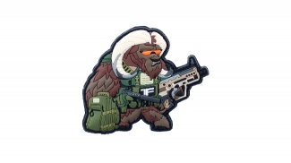 TF-2215 PVC Velcro 'Contractor Ox' Patch