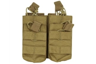 Viper MOLLE Quick Release Stacked Double Mag Pouch (Coyote Tan)