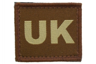 Vanguard Velcro UK Patch (Tan)