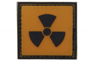 """101 Inc PVC Velcro Patch """"Radioactive"""""""
