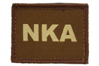 Vanguard Velcro NKA Patch (Tan)