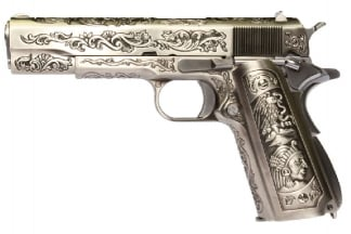 WE GBB 1911 Classic Floral (Silver)