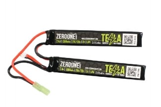 Zero One 7.4v 1300mAh 15C LiPo Nunchuck Battery