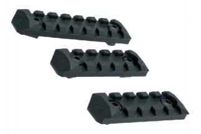 Zero One Polymer RIS Rail Set for M-Lok (Black)