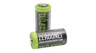 Zero One Tesla Battery CR123A 3v (Pack of 2)