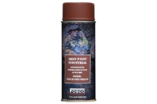 Fosco Army Spray Paint 400ml (Flecktarn Brown)