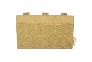 Viper MOLLE Elastic Triple M4 Mag Pouch (Coyote Tan)