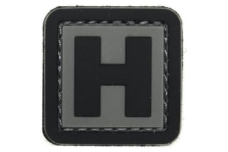 "101 Inc PVC Velcro Patch ""H"""