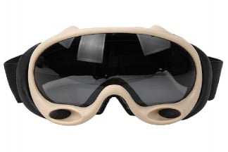 FMA Assault Goggles with Clear/Tinted Lenses (Dark Earth)