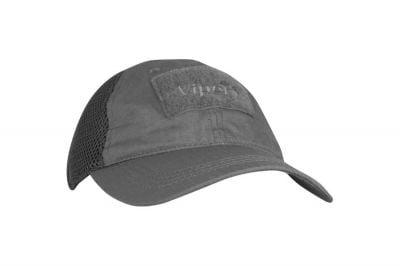 Viper Flexi-Fit Baseball Cap Titanium (Grey)