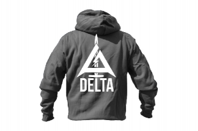Daft Donkey Special Edition NAF 2018 'Delta' Viper Zipped Hoodie Titanium (Grey)