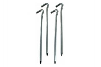 "Highlander 9"" Heavy Duty Wire Steel Pegs (Pack of 4)"
