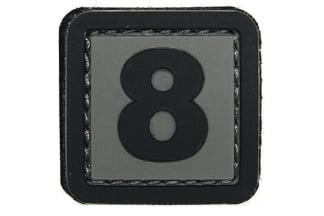 "101 Inc PVC Velcro Patch ""8"""