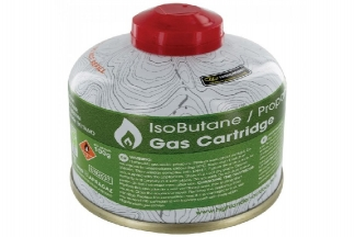 Highlander Butane Camping Gas 100g Valved Cartridge