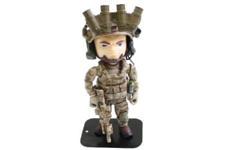 "Figure Base Trickyman 5"" Seal Team 6 Rifleman Action Figure"