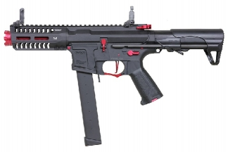 G&G Combat Machine AEG ARP 9 Super Ranger Fire with ETU (Black/Red)