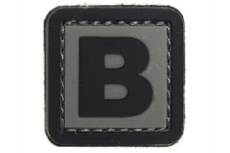 "101 Inc PVC Velcro Patch ""B"""