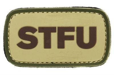 """101 Inc PVC Velcro Patch """"STFU"""""""