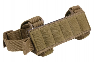 101 Inc Buttstock Shotgun Shell Holder (Coyote Tan)