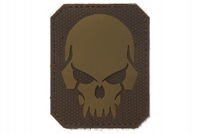 "101 Inc PVC Velcro Patch ""Pirate Skull"""