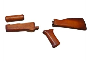 APS AK74 Wooden Grip & Stock Set