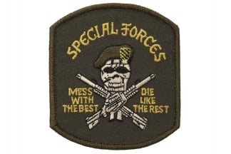 "101 Inc Fabric Patch ""Special Forces Skull"""