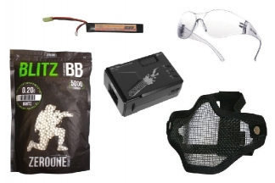 Zero One 7.4v 1200mAh LiPo 20C Battery Starter Pack Tier 1 (Bundle)