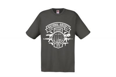 Daft Donkey Special Edition NAF 2018 'Est. 2006' T-Shirt (Grey)