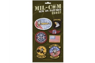 Mil-Com USAF Sew On Patch Set