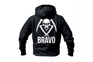Daft Donkey Special Edition NAF 2018 'Bravo' Viper Zipped Hoodie (Black)