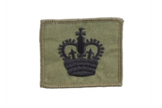 Helmet Rank Patch - WO2 (Subdued)