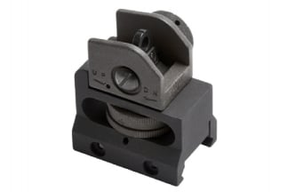 G&G 20mm RIS Rear Sight LR300 Style (Black)